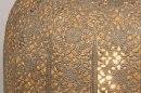 Tafellamp 13466: modern, eigentijds klassiek, metaal, grijs #5