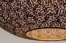 Hanglamp 13471: modern, eigentijds klassiek, metaal, zwart #5