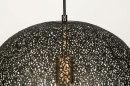 Hanglamp 13472: modern, eigentijds klassiek, metaal, zwart #7