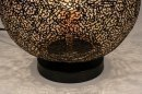 Tafellamp 13474: modern, eigentijds klassiek, metaal, zwart #5