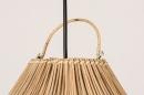 Hanglamp 13569: modern, retro, hout, riet #5
