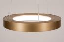 Hanglamp 13606: design, modern, metaal, goud #3