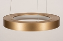 Hanglamp 13606: design, modern, metaal, goud #5