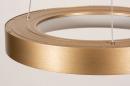 Hanglamp 13606: design, modern, metaal, goud #7