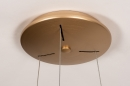 Hanglamp 13606: design, modern, metaal, goud #8