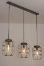 Hanglamp 13641: industrie, look, landelijk, rustiek #1