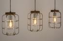 Hanglamp 13641: industrie, look, landelijk, rustiek #3