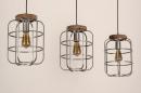 Hanglamp 13641: industrie, look, landelijk, rustiek #5