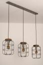 Hanglamp 13641: industrie, look, landelijk, rustiek #6