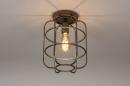 Plafondlamp 13642: industrie, look, landelijk, rustiek #2