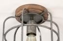 Plafondlamp 13642: industrie, look, landelijk, rustiek #6