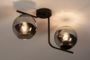 Plafondlamp 13761: modern, retro, eigentijds klassiek, art deco #1