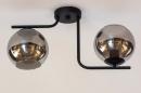 Plafondlamp 13761: modern, retro, eigentijds klassiek, art deco #10
