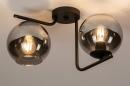 Plafondlamp 13761: modern, retro, eigentijds klassiek, art deco #2