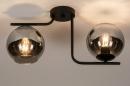 Plafondlamp 13761: modern, retro, eigentijds klassiek, art deco #3
