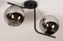 Plafondlamp 13761: modern, retro, eigentijds klassiek, art deco #4