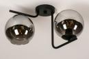 Plafondlamp 13761: modern, retro, eigentijds klassiek, art deco #5