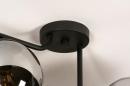 Plafondlamp 13761: modern, retro, eigentijds klassiek, art deco #9