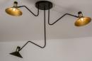 Plafondlamp 13780: modern, retro, eigentijds klassiek, art deco #1