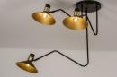 Plafondlamp 13780: modern, retro, eigentijds klassiek, art deco #2