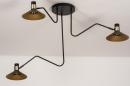 Plafondlamp 13780: modern, retro, eigentijds klassiek, art deco #3