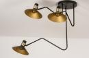 Plafondlamp 13780: modern, retro, eigentijds klassiek, art deco #4