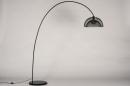 Vloerlamp 13790: metaal, zwart #16
