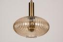 Hanglamp 13794: modern, retro, eigentijds klassiek, art deco #5