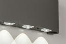 Wandlamp 13813: design, modern, metaal, grijs #4