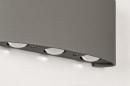 Wandlamp 13813: design, modern, metaal, grijs #5