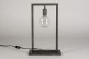 Tafellamp 13815: industrie, look, landelijk, rustiek #3