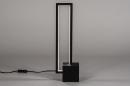Tafellamp 13849: design, modern, metaal, zwart #1