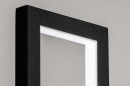 Tafellamp 13849: design, modern, metaal, zwart #2