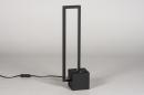 Tafellamp 13849: design, modern, metaal, zwart #3