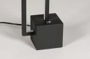 Tafellamp 13849: design, modern, metaal, zwart #4