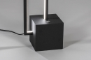 Vloerlamp 13850: design, modern, metaal, zwart #7