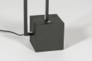Vloerlamp 13850: design, modern, metaal, zwart #8