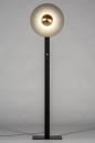 Vloerlamp 13851: design, modern, messing, geschuurd #2