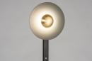 Vloerlamp 13851: design, modern, messing, geschuurd #5