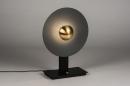 Tafellamp 13852: design, modern, messing, geschuurd #1