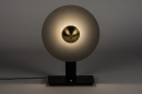 Tafellamp 13852: design, modern, messing, geschuurd #2