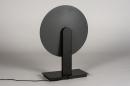Tafellamp 13852: design, modern, messing, geschuurd #5