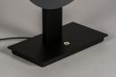 Tafellamp 13852: design, modern, messing, geschuurd #7