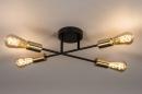 Plafondlamp 13857: industrie, look, modern, retro #3