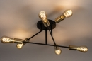 Plafondlamp 13859: industrie, look, modern, retro #1