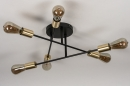 Plafondlamp 13859: industrie, look, modern, retro #5