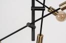 Hanglamp 13860: modern, retro, eigentijds klassiek, metaal #10