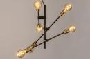 Hanglamp 13860: modern, retro, eigentijds klassiek, metaal #3