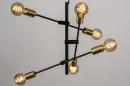 Hanglamp 13860: modern, retro, eigentijds klassiek, metaal #5