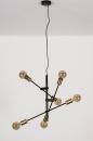 Hanglamp 13860: modern, retro, eigentijds klassiek, metaal #6
